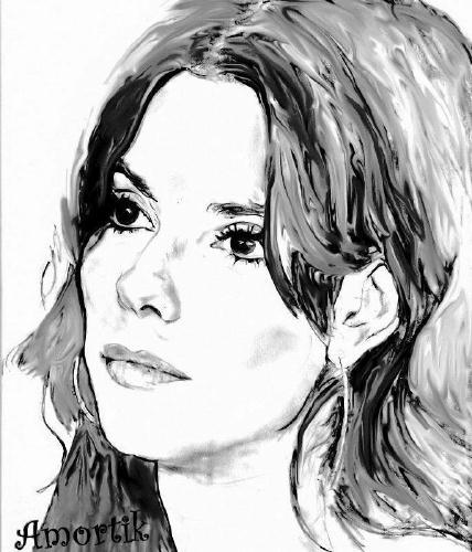 Sandra Bullock by Amortik